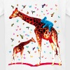 01 Giraffe Koala and Hummingbirds fairy tales - Kids' T-Shirt
