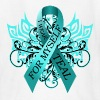 Ovarian Cancer I Wear Teal for Myself - Kids' T-Shirt
