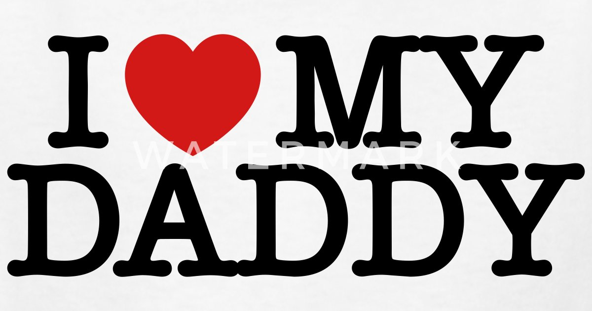 49af84f26 I Love My Daddy Kids  T-Shirt