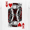 king of hearts Valentines Day (his and her) - Kids' T-Shirt