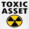 Toxic Asset With Hazardous Waste Symbol - Kids' T-Shirt
