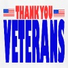 USAts THANK YOU VETERANS us flag bluz - Kids' T-Shirt