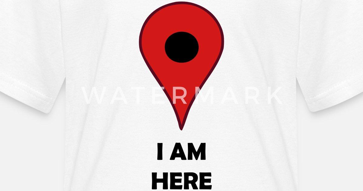 i am here map location gps symbol by azza1070 spreadshirt
