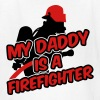 My daddy is a firefighter - Kids' T-Shirt