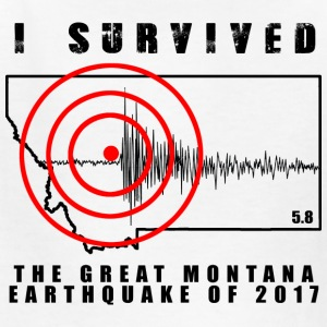 Great Montana Earthquake - Kids' T-Shirt