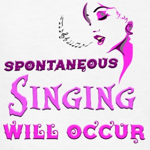Spontaneous Singing - Kids' T-Shirt