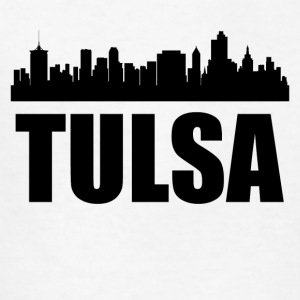 Tulsa OK Skyline - Kids' T-Shirt