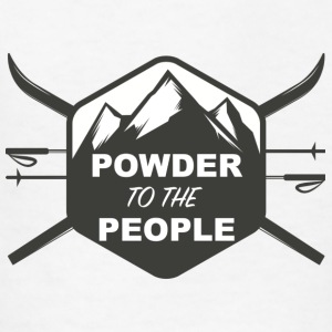 POWDER TO THE PEOPLE - Kids' T-Shirt