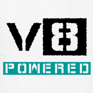 V8 powered - Kids' T-Shirt