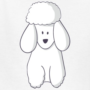 poodle - Kids' T-Shirt