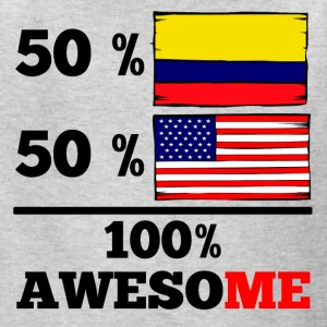 Half Colombian Half American 100% Awesome - Kids' T-Shirt