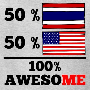 Half Thai Half American 100% Awesome - Kids' T-Shirt