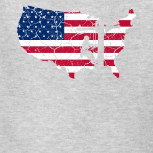 USA Patriotic American Flag US Lineman Gift Shirt - Kids' T-Shirt