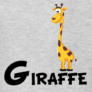 Cartoon Giraffe - Kids' T-Shirt