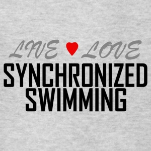Live Love synchronized swimming - Kids' T-Shirt