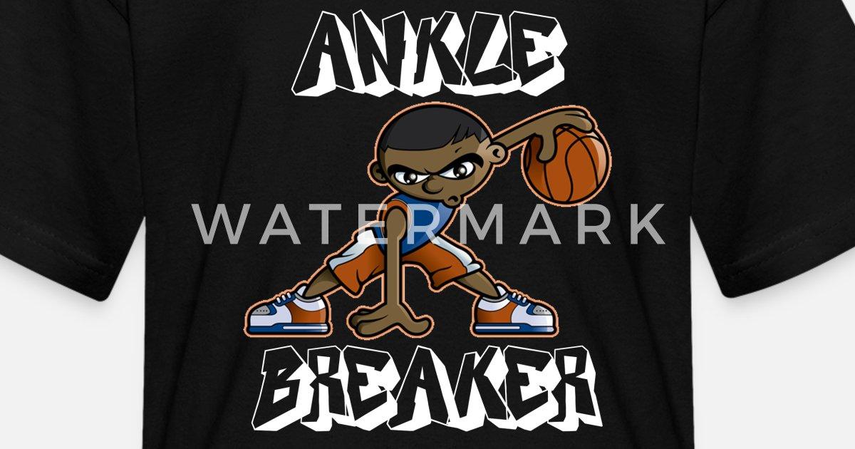 7ad7e4bf3821fb Ankle Breaker Basketball Shirt - Basketball Fans Kids' T-Shirt | Spreadshirt