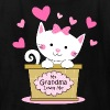 Kitty Grandma Loves Me - Kids' T-Shirt