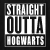 Straight Outta Hogwarts Parody Design - Kids' T-Shirt