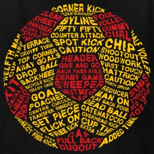 Soccer Ball Typography - Kids' T-Shirt
