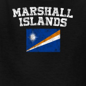 Marshallese Flag Shirt - Vintage Marshall Islands - Kids' T-Shirt