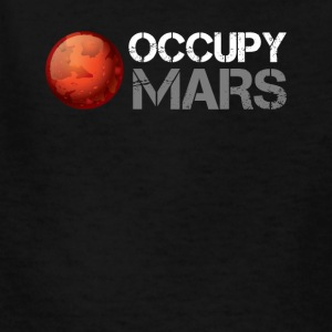 occupy mars - Kids' T-Shirt