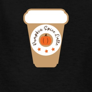 Pumpkin Spice Latte - Kids' T-Shirt