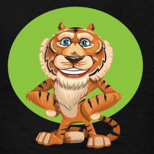 Funny Lion Comic Style - Kids' T-Shirt