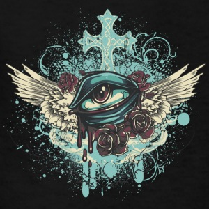 eye with wings - Kids' T-Shirt