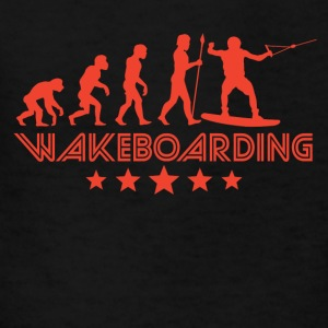 Retro Wakeboarding Evolution - Kids' T-Shirt