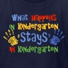 Stays In Kindergarten - Kids' T-Shirt