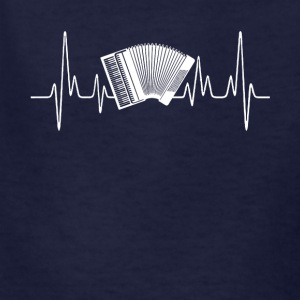 Accordion Heartbeat Shirt - Kids' T-Shirt
