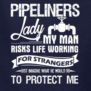 PIPELINERS LADY TEE SHIRT - Kids' T-Shirt