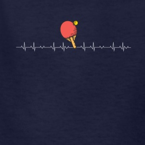Ping pong heartbeat - Kids' T-Shirt