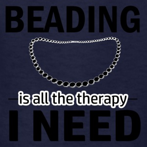 Beading is my therapy - Kids' T-Shirt