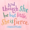 She Is Fierce Shakespeare Quote - Kids' T-Shirt