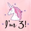 3rd Birthday Girls Unicorn Party - Kids' T-Shirt