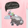 Real Unicorns wear curves - Kids' T-Shirt