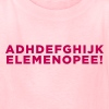 Funny ADHD Alphabet Quote  - Kids' T-Shirt