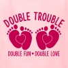 double trouble - double fun - double love - Kids' T-Shirt
