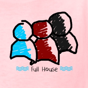 full house - Kids' T-Shirt