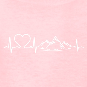 Love Mountains Heartbeat Shirt - Kids' T-Shirt