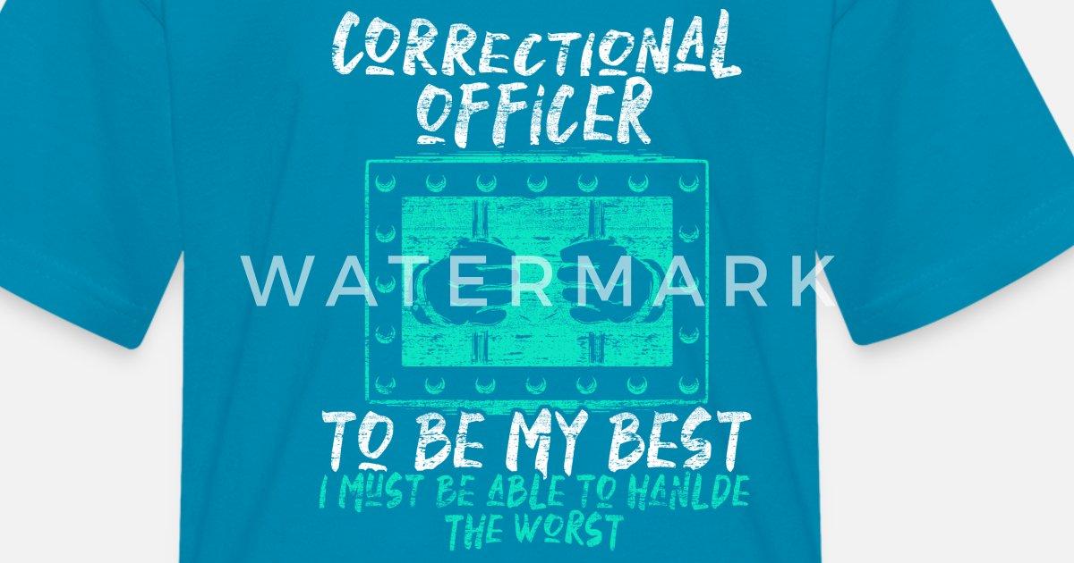 fa4a69b8 Correctional Officer Kids' T-Shirt   Spreadshirt