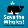 Save the whales (Collect the whole set) - Kids' T-Shirt