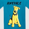 Funny Airedale Terrier - Kids' T-Shirt