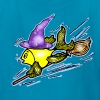 Wizard Fish - funny cute drawing, By FabSpark - Kids' T-Shirt