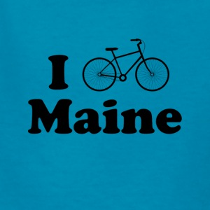 maine biking - Kids' T-Shirt