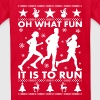 Oh What Fun To Run - Kids' T-Shirt