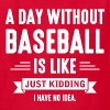 Day Without Baseball - Kids' T-Shirt