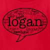 Logan Henderson Names MP T-Shirts - Kids' T-Shirt