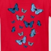 Blue Butterflies - Kids' T-Shirt